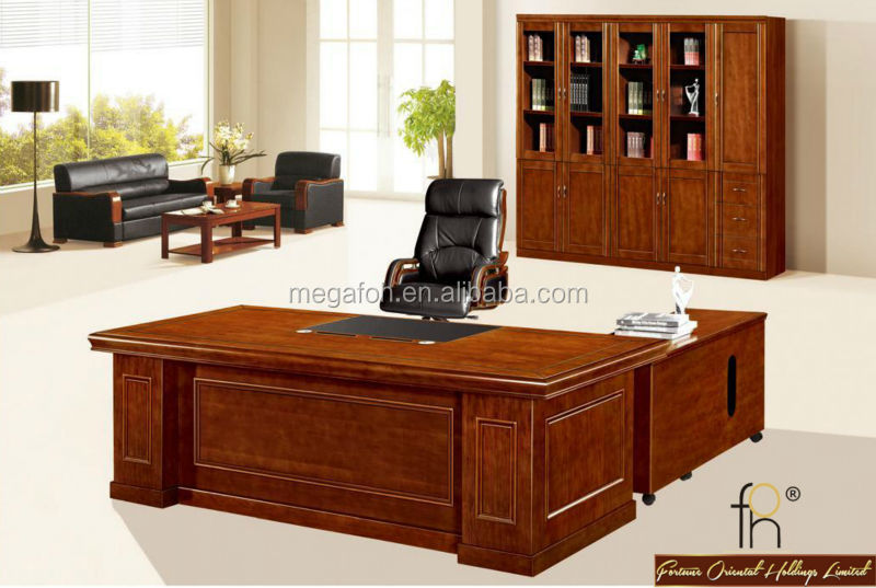 Antique Executive Desk Wooden Office Furniture (FOHS-A0324) - Antique Executive Desk Wooden Office Furniture (FOHS-A0324), View