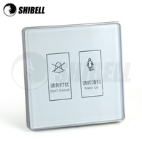 SHIBELL Glass Touch switch 110~250V 5 gang 1 way Touch Light
