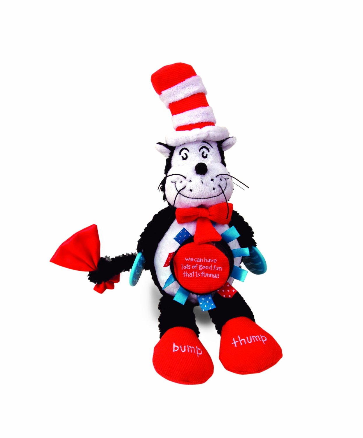 Manhattan Toy The Cat in the Hat Activity Cat Baby Toy