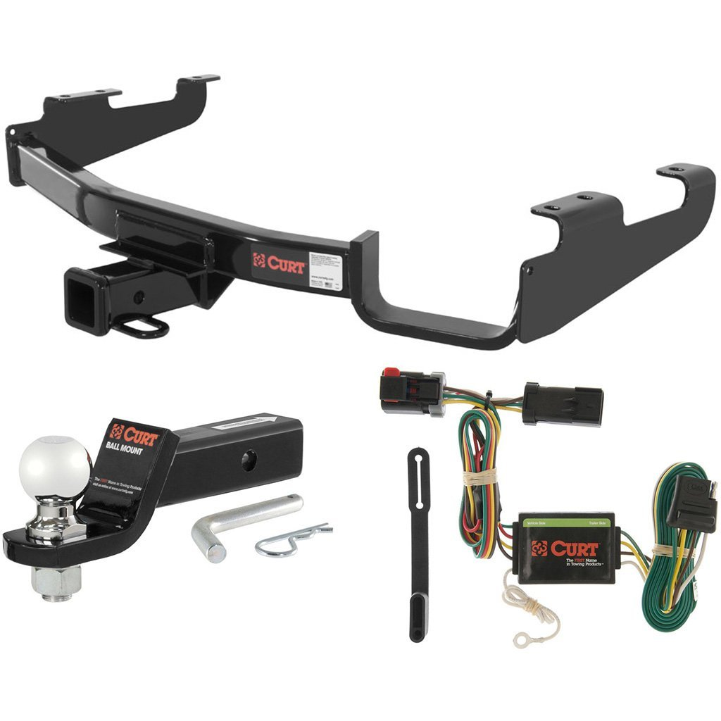 "CURT Class 3 Hitch Tow Package w/ 2-5/16"" Ball for Town & Country, Dodge Caravan"