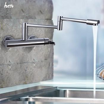 Folding Kichen Sink Faucet X6002 360 Swivel Single Handle Shower ...