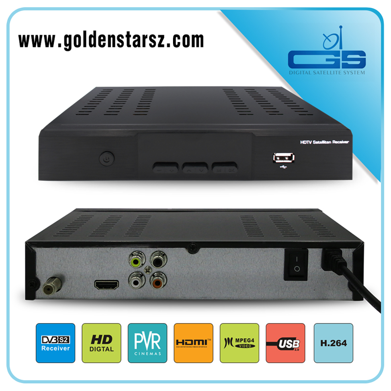 FTA + IKS starmax digital satellite receiver with hd full MPEG4 IPTV by wifi