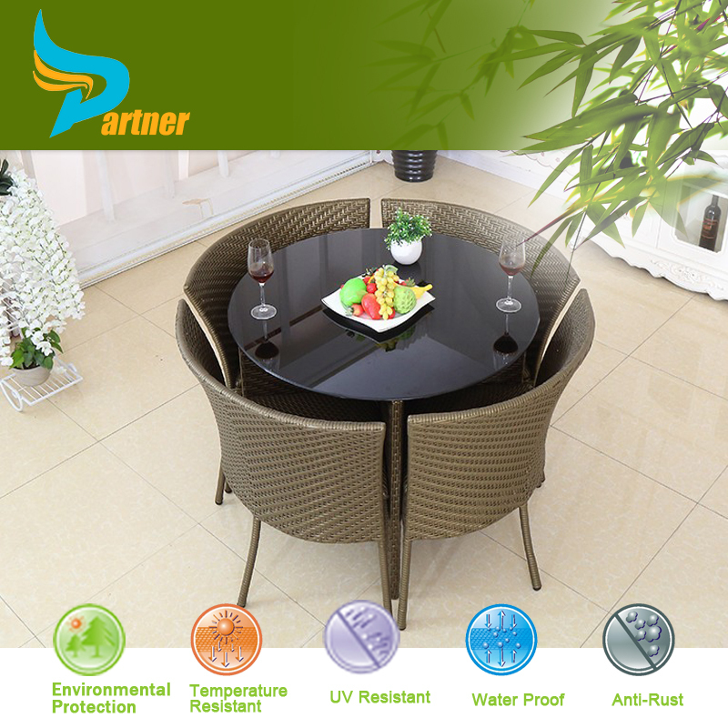 Rattan Elements Best Price Untreated Indian Furniture Marble Dining Table Chair Wooden Furniture