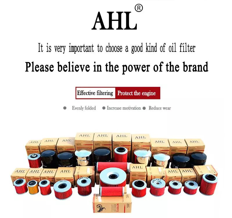 AHL Brand Nippon Motorcycle Oil Filter For TRIUMPH TIGER EXPLORER 800 XRX XRT XR XCX XCA XC ABS SPORT 1050 SE 956 885