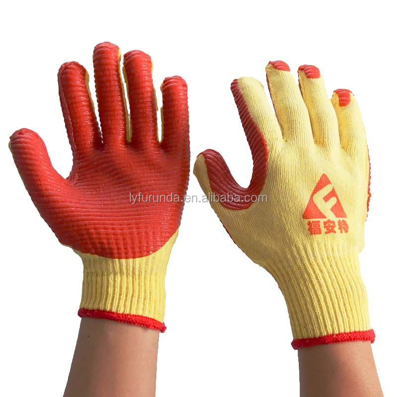 rubber fishing gloves rubber dipped gloves industrial rubber gloves