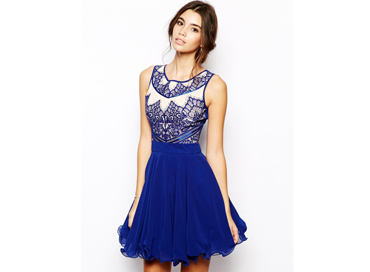 Whole Mexican New Fashion Las Embroidered Homecoming Dresses