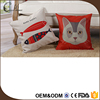 WLHKD0293 comfortable and fascinating with printing silk fabrics pillow