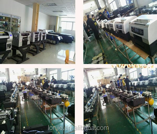 latest product middle size multicolor spinner uv printer machinery on low price