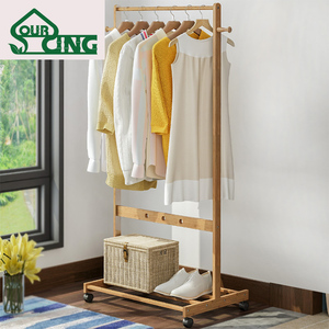 Design customizable hanging clothes rack gold german made drying