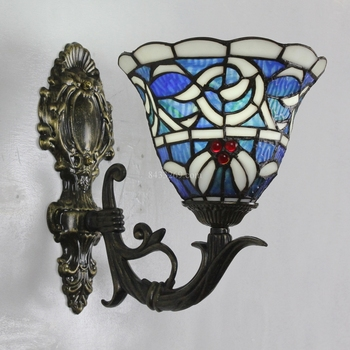 decoration 8inch tiffany style home wall lamp
