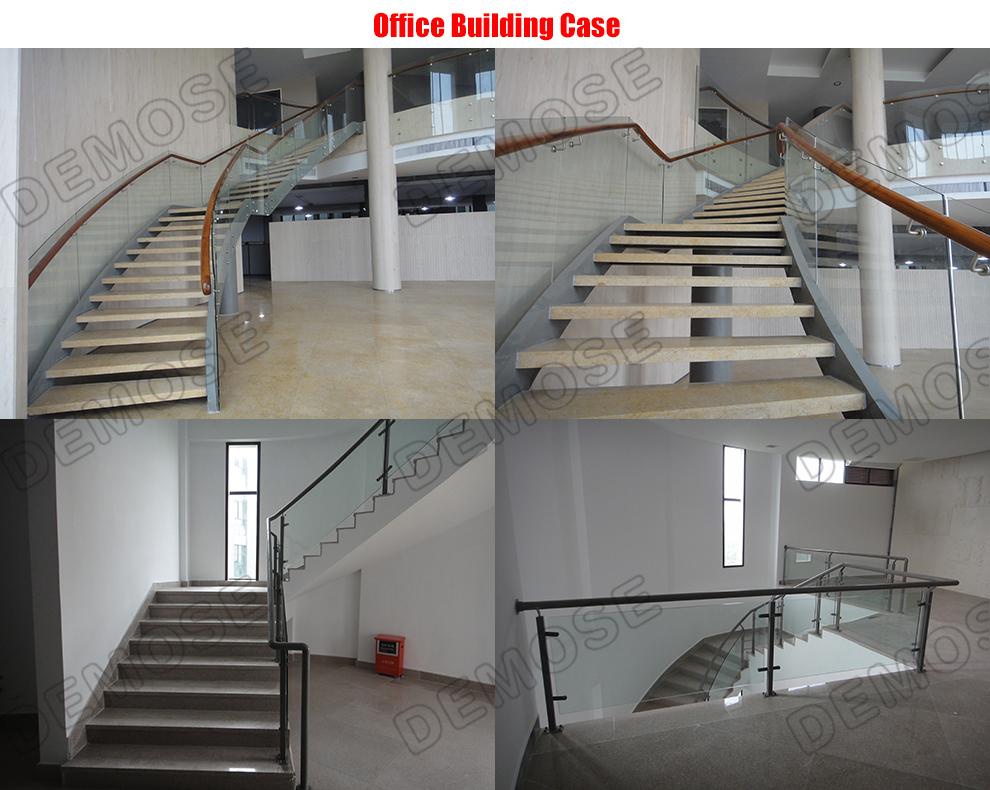 Interior Glass Railing Void Glass Balustrade Designs Stair ...