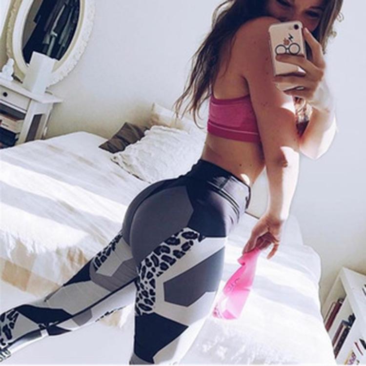 Custom yoga leggings fitness High Waisted workout gym leggins scrunch butt sport printed Leggings for women