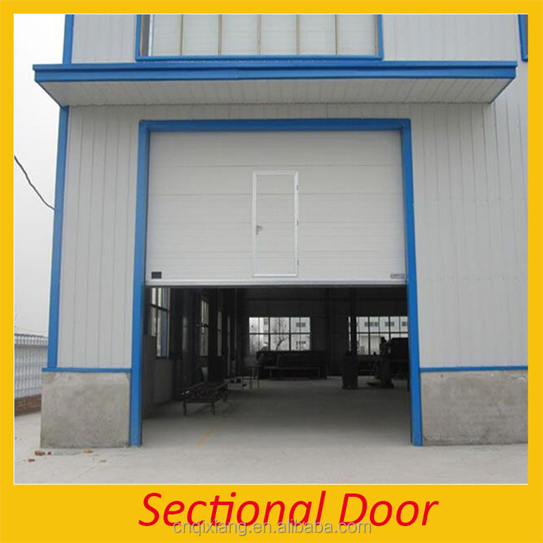 Aluminum High Speed Roll Up Garage Door For Parking