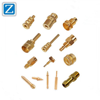 OEM TV Electronic Brass Spare Parts/Aluminum Machinery Parts