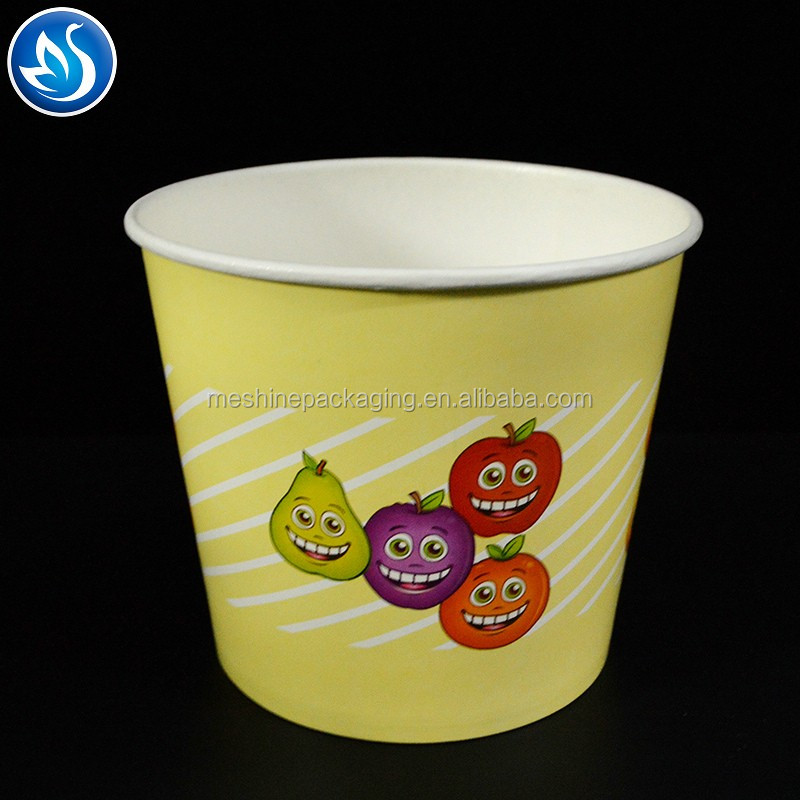 Disposable eco Single Wall Paper Cups for The Popcorn