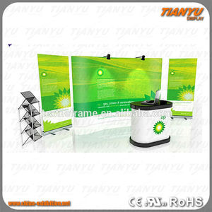 Sale Promotion Pop Up Stands Backdrop Counter with Picture