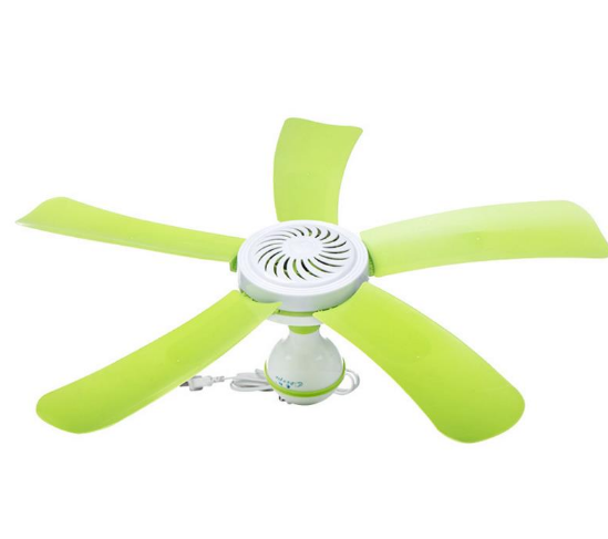 Super Silent Ceiling Fans Cool Mosquito Net Electric Fan Large Wind Nets Hanging Mini Portable Soft Household