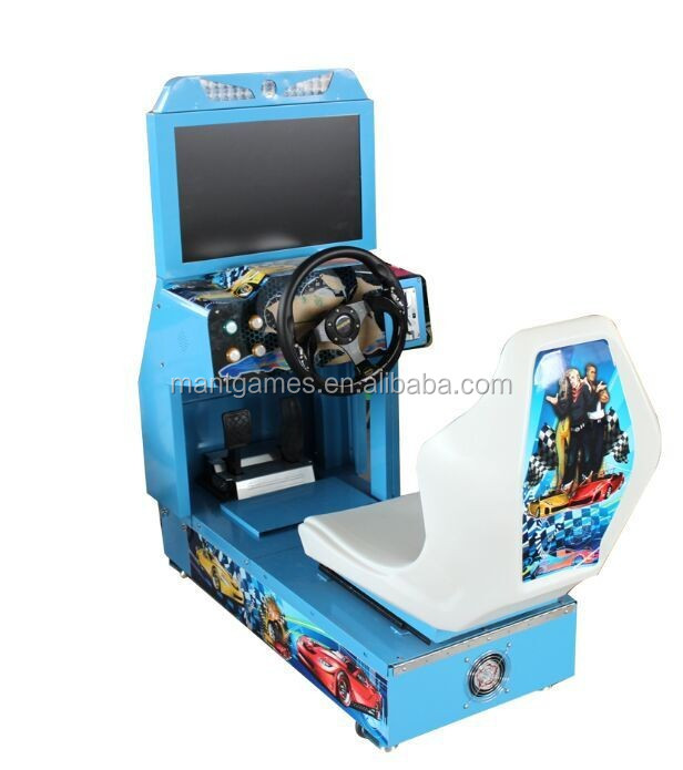 Arcade Amusement Machine Video Game Console Simulator Driving Car ...