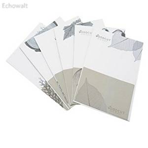 Vintage Elegant Leaf Style Greeting Card Envelopes with Stationery(6Sets,6Style) - Echowalt updated
