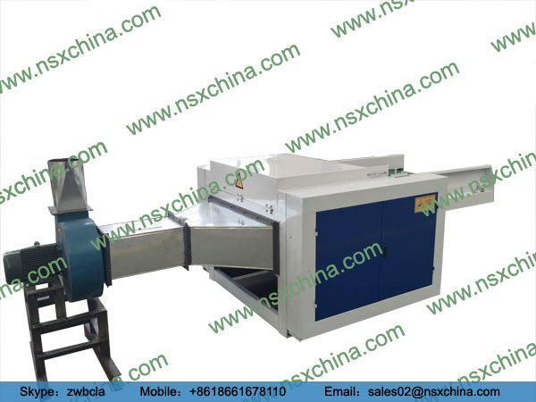 NSX-FS450 opening machine adopt customized feeding roller and special angle steel nail