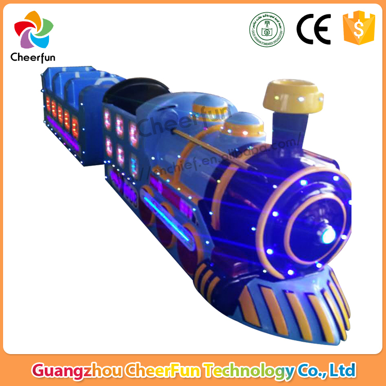 Wonderful outdoor tourist electric trackless train , amusement park road train for sale