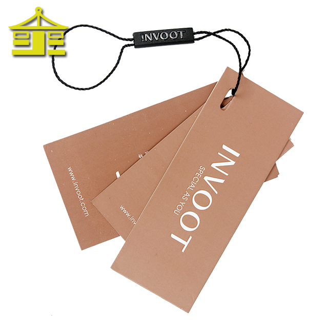 Retail shoes craft paper super jeans size printed china tag design custom garment clothing hang tags for clothing