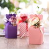 Tiffany Vase Shape Sweet Wedding favor Candy Box creative paper favor holder