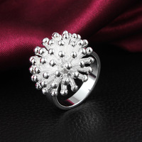 fashion 925 sterling silver engraved engagement ring wholesale R059