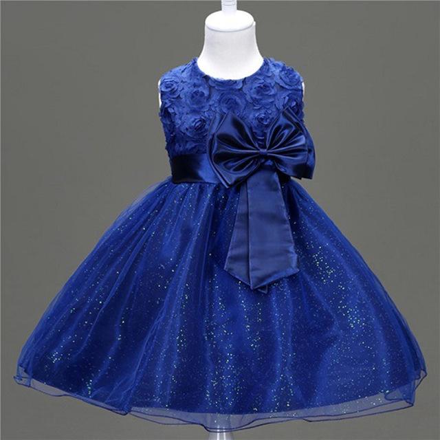 afb7aad681483 2017 de Fleurs pour enfants Robes de Princesse Enfants Robes de Princesse  Pour 3 ans-