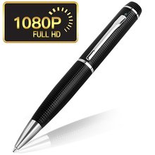 Baru 1920*1080 p 8 GB Emas Hitam HD DVR Audio Video Recorder Camcorder Mini DV Spy Pen <span class=keywords><strong>Kamera</strong></span>