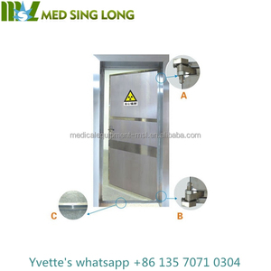 MSLLD01 China Glod supplier Customize X ray protective door, X-ray Lead door for x-ray room