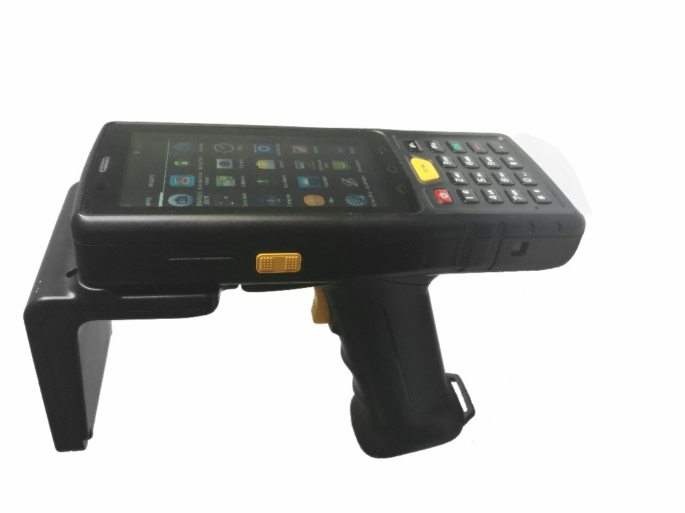 Promotion Rugged IP65 Logistic Courier Android Handheld 3G PDA 1D Barcodes scanners 2D Barcode 4G LTE WIFI GPS 4'' Touch Screen