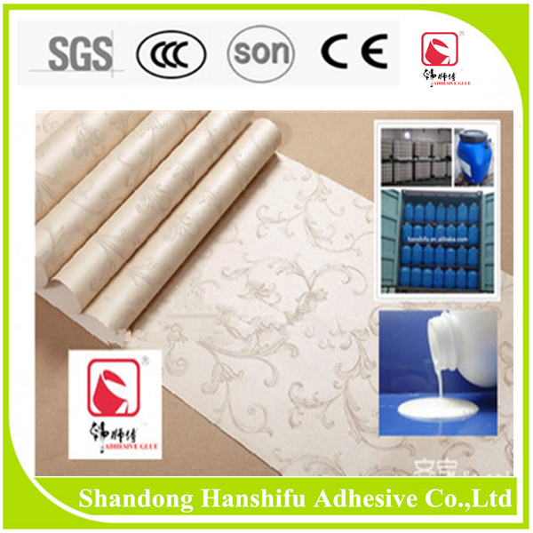 Shandong Hanshifu Non Toxic Adhesive Glue For Wallpaper Medium