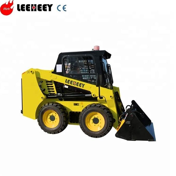 Chinese track skid steer loader with mulcher