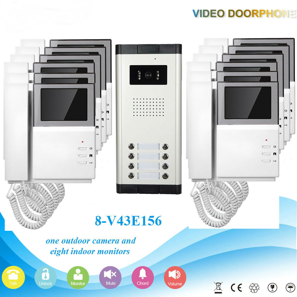 2 way touch pad operation video door 2 wire video door phone, 2 wire video door phone suppliers and multi apartment video door phone wiring diagram at bakdesigns.co