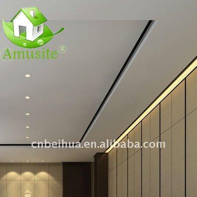 Pvc laminé panneaux de gypse / faux plafond-Tuiles de plafond-ID ...