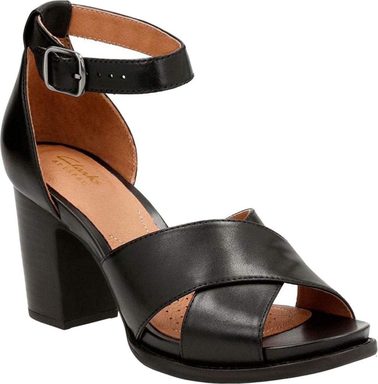 Clarks Women's Briatta Tempo Ankle Strap Sandal