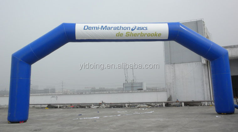 Giant Inflatable Finish Line Arch for Marathon Race K4052
