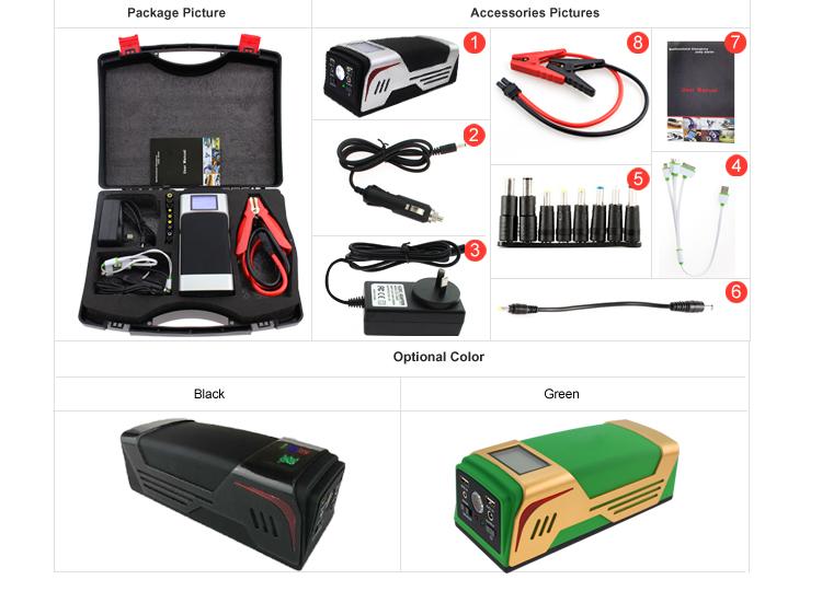 China wholesale emergency portable car power bank jump starter SK-JP02