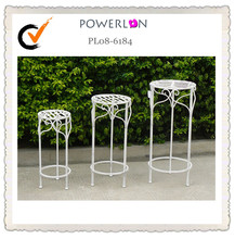 Light weight indoor wrought iron plant stands
