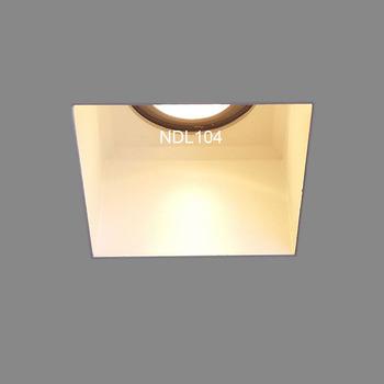 Invisible Square Deep Trimless Recessed Lighting Interior 7w Gu10 Downlight Design Product