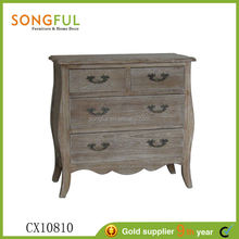 2014 hot sale natural furniture vintage chest of drawers
