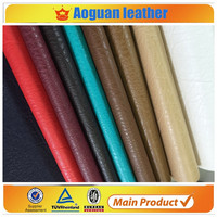 Pakistan leather market soft with good hand feeling pvc leather fabric for making bags leather