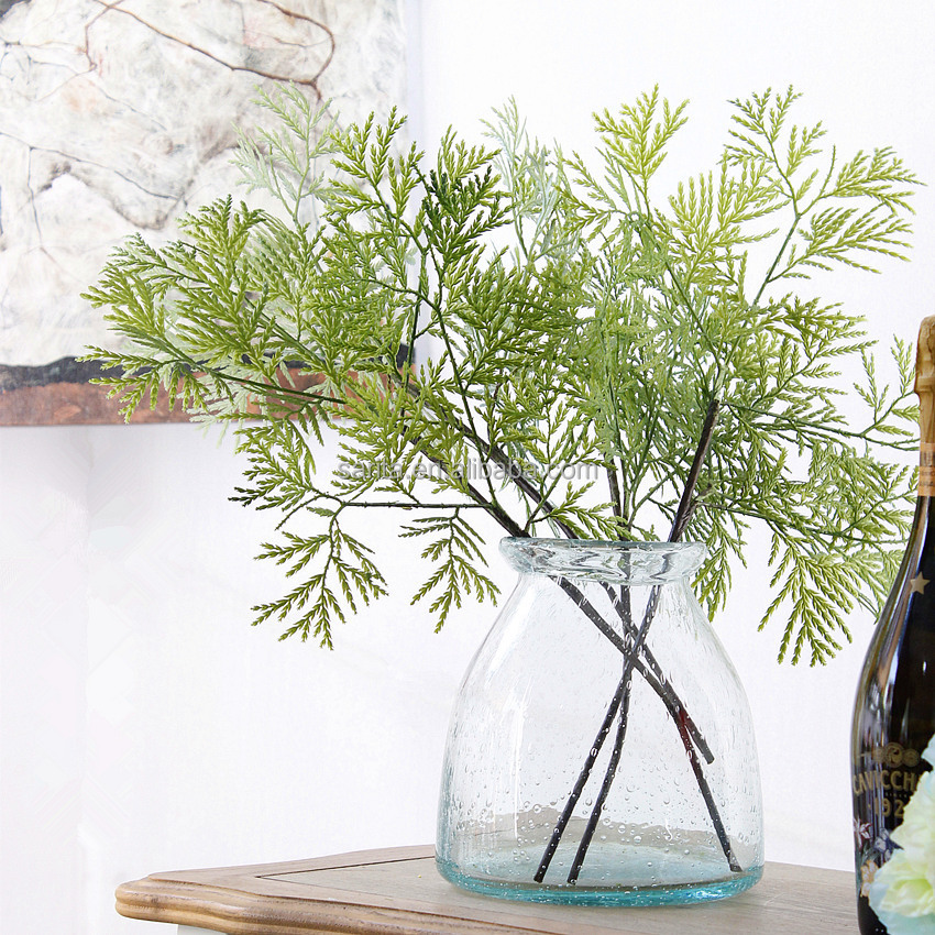 Artificial cypress branch and foliage artificial Floral accessories