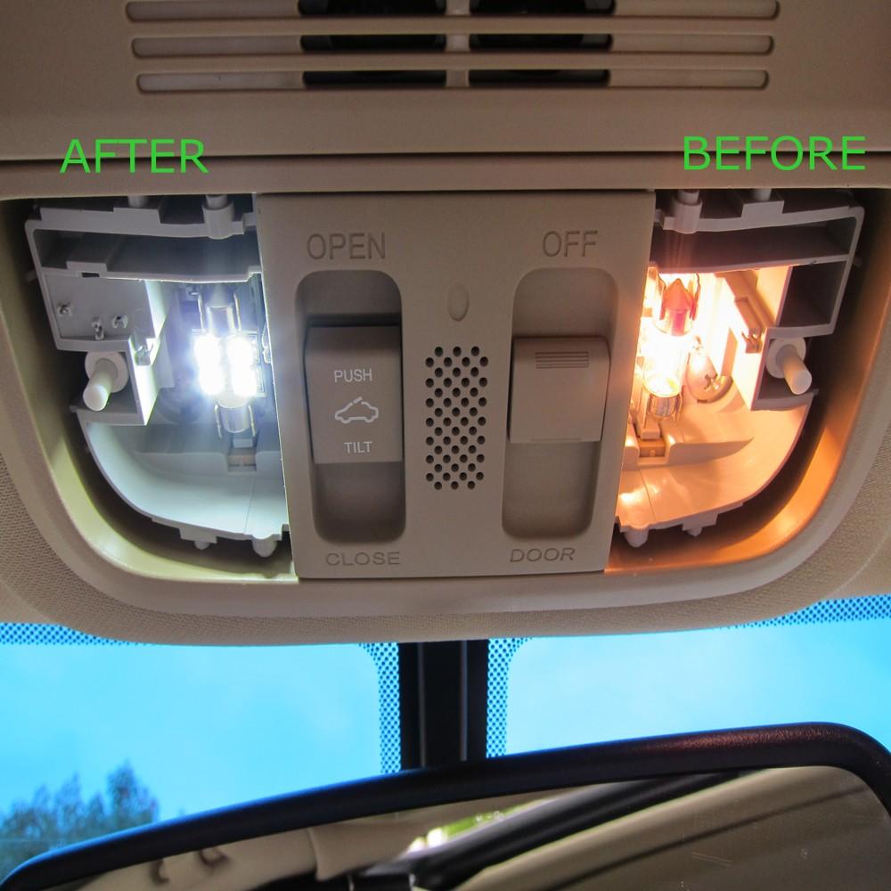 Interior Led Lights For Home: 15pcs Canbus Car White LED Light Bulbs Interior Package