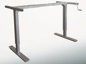 Manual Height Adjustable Table Legs Adjustable Height Metal Table Legs