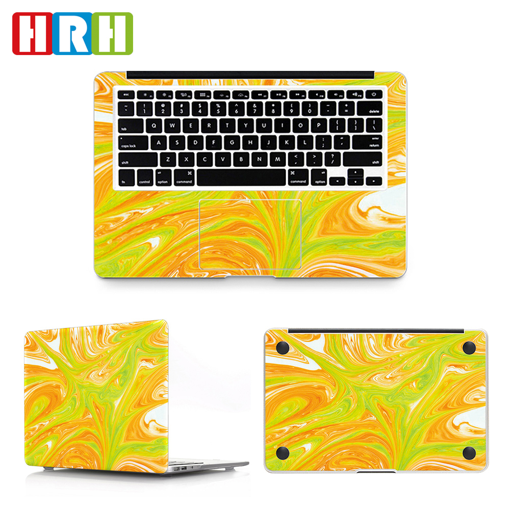 Oem Laptop Marble Pattern Pvc Decal Sticker Full Body Laptop Skin Sticker  For Mac Book Air Laptop - Buy Laptop Decal Sticker,Full Body Laptop Skin