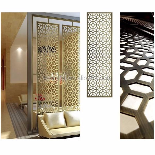 Custom made interior decor laser cut metal partition - Cloisons amovibles ikea ...