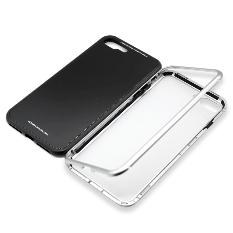 2018 hot sell full <strong>cover</strong> magnetic mobile phone case for i8 i8p ix Anti-scratch and anti-fall case phone <strong>cover</strong>