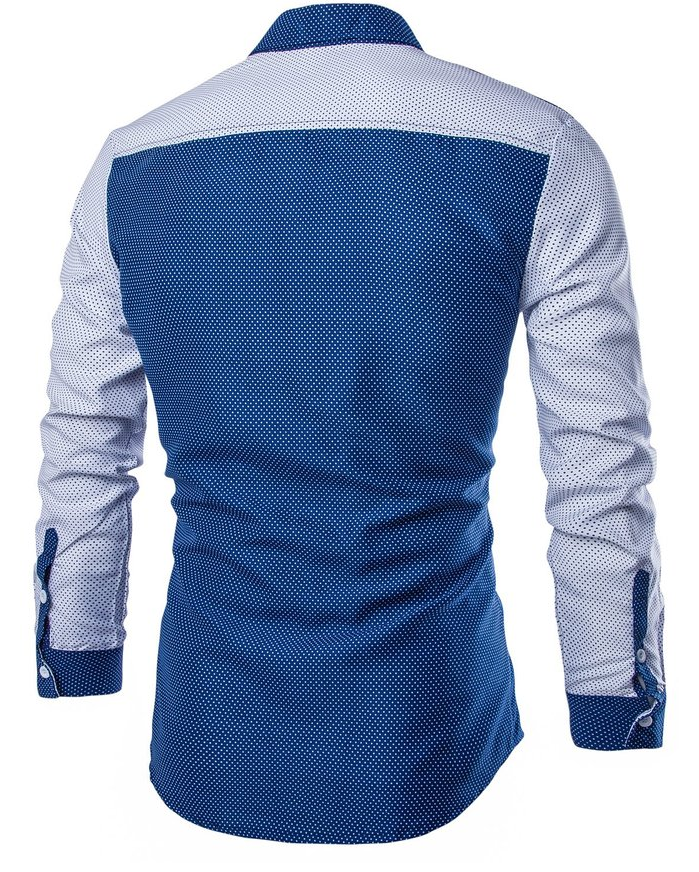 China wholesale clothing custom design pattern men shirt for Patterned dress shirts for men